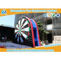 Wholesale 0.55mm PVC Black Inflatable Football Darts Inflatable Score Board With CE from china suppliers