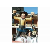 Quality Standing Inflatable Cartoon Characters , Sport Colorful Giant Inflatable Replica for sale