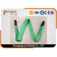 Wholesale Polyester Flat Double Eye Webbing Sling Color Code Lifting Sling EN 1492-1 Standard from china suppliers