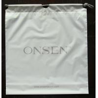 Wholesale White Plastic Drawstring Backpack For Laptop / Ipad / Notbook from china suppliers