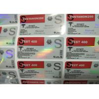 Wholesale Multi Size Glass Vial Labels For 300mg Masteron Enanthate from china suppliers