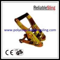 "Wholesale 2"" 5T Tie down strap buckle with short handle for Ratchet straps from china suppliers"