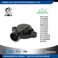 Wholesale CHEVROLET Throttle position Sensor Replacement 17125483 25319901 17123852 8171238520 93277507 from china suppliers
