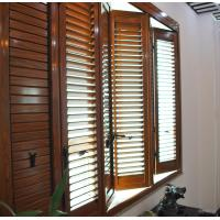 Wholesale Residential Bi Fold Aluminium Windows  / Collapsible Windows With Louver from china suppliers