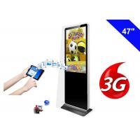 Wholesale Indoor Digital Display Signage , Floor Standing LCD Advertising Display from china suppliers