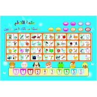 Wholesale Plastic ABS board and paper Children Education wall hanging Qruan Arabic Alphabet Chart from china suppliers