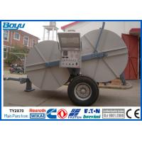 Quality 2 x 70kN 14 Ton Hydraulic Tensioner With Two Bundle Conductor Tension Machine for sale