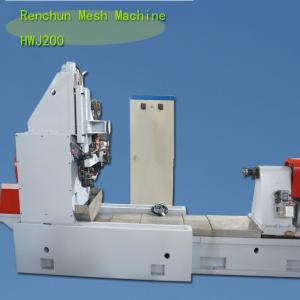 Wholesale CS Vee Wire Mesh Welding Machine50-200 MM Tube Diamter 20R / Min from china suppliers