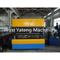 Quality Portable Galvanized Roofing Sheet Roll Forming Machine , Steel Roofing Machine 1250mm Width for sale
