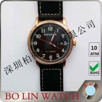 Wholesale Slim / Thin Style Bronze Mens Watch Ladies With CuSn8 Case Buckle from china suppliers