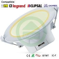 Wholesale 3000K Warn Wihte Dimmable LED Downlights 10W Corrosion Resistance from china suppliers