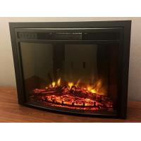 "Wholesale 26"" LED curved insert electric fireplace heater F2625 Knsing RV fireplace real log from china suppliers"