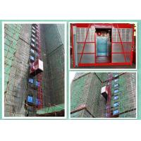 Temporary Construction Electric Cage Hoist For Power Plants / Bridges Building
