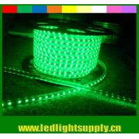 Wholesale High lumen SMD5050 220V waterproof IP65 led neon flexible strip green from china suppliers