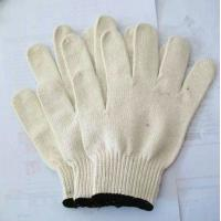 Wholesale XXL Comfortable white color cotton String Knitted Work Gloves for Food Processing from china suppliers