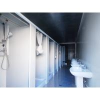 Wholesale Standard Ablution Container Layout - Foldable, Movable, Knockdown Panel Wall System from china suppliers