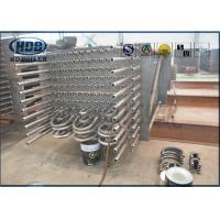 Wholesale Water Tube Alloy Steel Boiler Economizer , Custom Power Plant Economizer from china suppliers