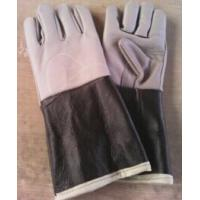 low price ,hand protective latex glove ,spray/Dip flock lined latex gloves acid resistant