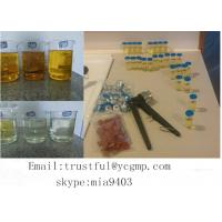 Wholesale Semi Finished Tri Test 400 mg / ml Injectable Testosterone Compound Oil For Bodybuilding from china suppliers