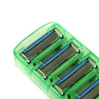 Wholesale 2PCS razor blades Men Manual Shaving Razor blades with 6 Blades High quality blades sharpener blades safety shaver blade from china suppliers