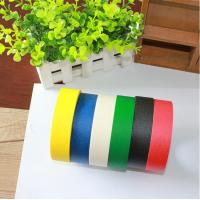 Quality Heat Resistance No Residue Colored Masking Tape For Wall / Car Painting for sale