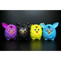 Wholesale 4 Colour Owl Bird Plastic Toy Figures Lovely Style For Home Decoration from china suppliers
