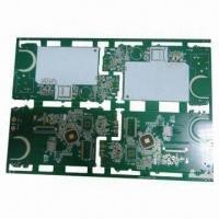 Quality Double-sided PCB, Ideal for Wire-bonding for sale