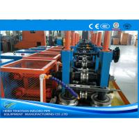 Wholesale Cold Rolled Coil SS Tube Mill Machine , Square Tube Mill Friction Saw Cutting from china suppliers
