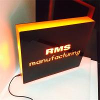 Wholesale desktop lighted perspex displays, brand led acrylic display from china suppliers