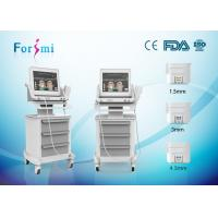 Wholesale 500w high intensity focused ultrasound hifu beauty machine for Face firming machine from china suppliers