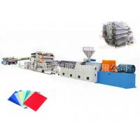 Wholesale Durable Plastic Sheet Extrusion Line For PC Endurance Board CE ISO from china suppliers