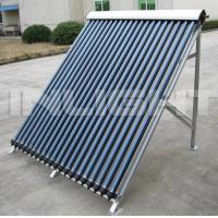 Wholesale Heat Pipe Solar Collector With Aluminum Alloy Bracket For Flat Roof from china suppliers