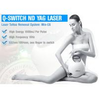 Wholesale Skin Treatment ND YAG Laser Machine , Q Switched ND YAG Laser For Pigmentation from china suppliers