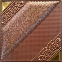 Wholesale Model Style Square 3D Leather Wall Panels With Natural Material from china suppliers