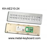 Wholesale USB Port Dynamic Waterproof Industrial Metal Keyboard with 24 Keys from china suppliers
