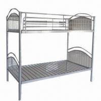 Wholesale Bunk Bed with Powder-coated Steel Frame from china suppliers
