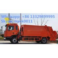 Wholesale JAC 4x2 12m3 Waste Rubbish Refuse Collector Garbage Truck Manufacturer, Jac 10-12m3 garbage compactor truck for sale from china suppliers