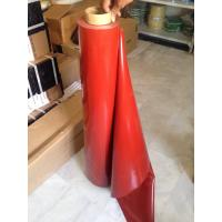 Wholesale red Silicon Elastic Fabric and silicone coated rubber fiberglass cloth from china suppliers