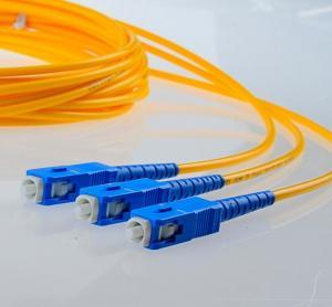 Wholesale Telecom LC SC ST FC SM Fiber Patch Cords UL RoHS Optical Fiber Patch Cables 1M 2M 3M 5M 10M 15M 20M 25M from china suppliers
