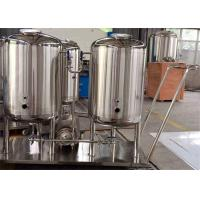 Wholesale Stainless Steel Sanitary CIP Cleaning System For Beverage Plant / Fruit Juice Equipment from china suppliers