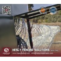 Wholesale Razor Wire Mobile Security Barrier System from china suppliers