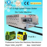 Wholesale Corrugated Cardboard Flexo Printer Slotter Machine / Rotary Die Cutter Machine from china suppliers
