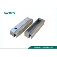 Wholesale Narrow Bolt Lock Brackets Steel U Bracket For Frameless Glass Door from china suppliers