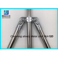 Wholesale Double Angled Pivoting Joint Chrome Pipe Connectors For Capacity Flow Rack and Conveyor from china suppliers
