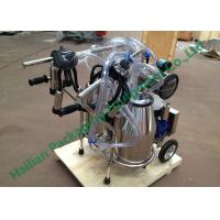 Wholesale Vacuum Pump Portable Cow Milker Machine , Goats Milk Systems from china suppliers