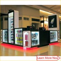 China Attractive shopping mall cell phone accessories phone case repair kiosk on sale