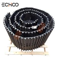 China PC300 track group with  900MM track shoes Komatsu heavy excavator ECHOO parts track link with track shoe on sale