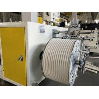 Wholesale PVC single wall corrugated pipe extrusion machine from china suppliers