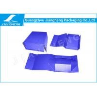Wholesale Handmade Small Folding Packing Boxes , Cardboard Shoes Packaging Boxes from china suppliers