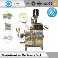 Quality SS 304 Tea Bag FFS Pouch Packing Machine , Food Pouch Filling Machine for sale